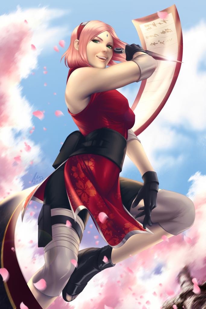 Sakura, Naruto ©Kishimoto Masashi