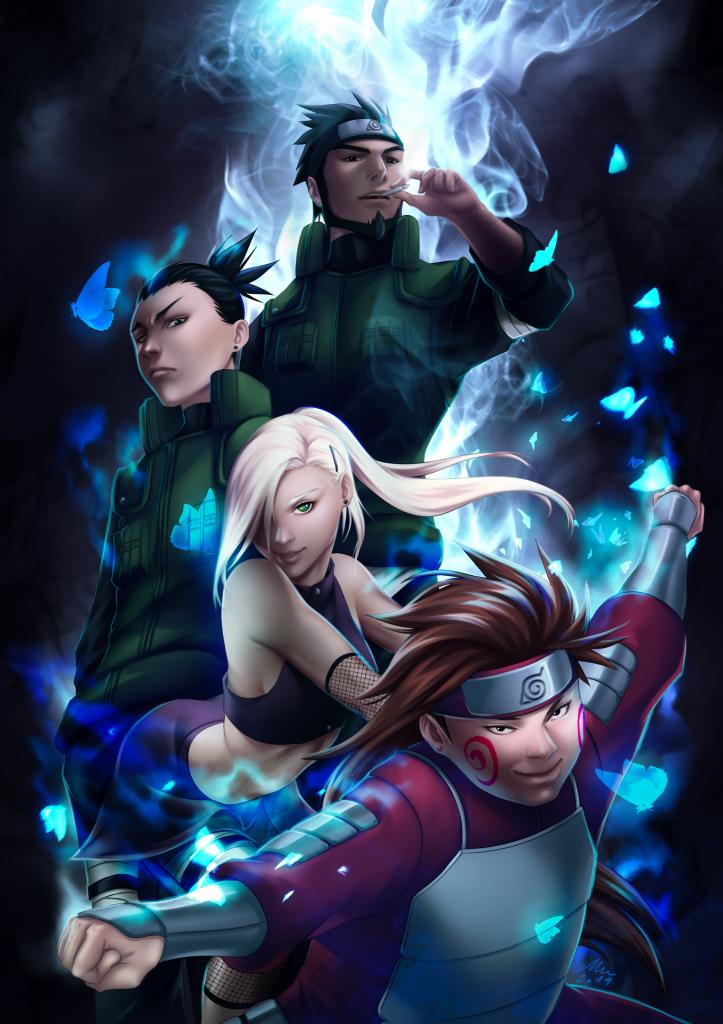 Team 10, Naruto ©Kishimoto Masashi